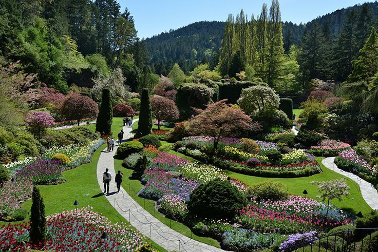 17 best images about amazing gardens around the world on - Best time to visit butchart gardens ...