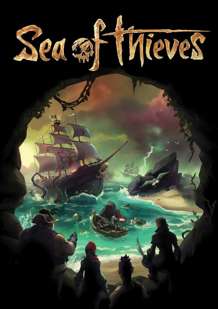 Sea Of Thieves Poster Sea Of Thieves Game Sea Of Thieves Gameplay Sea Of Thieves
