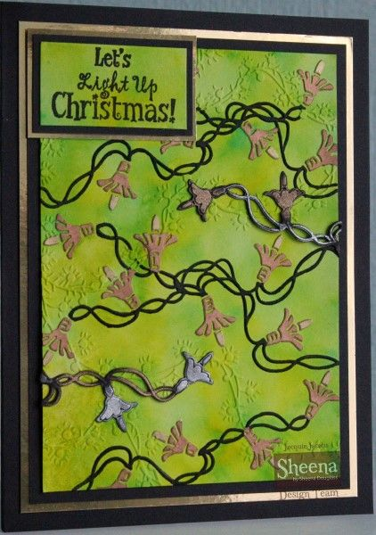 A project created with Sheena Douglass's Festive Folders from Crafter's Companion. #crafterscompanion