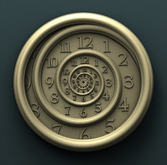 New STL file of New Wall Clock Cofe 3d or engrave Model for CNC Router Machine