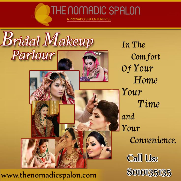 Look Special On Your Special Day With #TheNomadicSpalon !!!!! Bridal Professional Bridal #Mehndi_Designs in the comfort of your space, your time and your convenience. Our #Spalonistas are awaiting your call...call us on 8010135135!!!!!! www.thenomadicspalon.com
