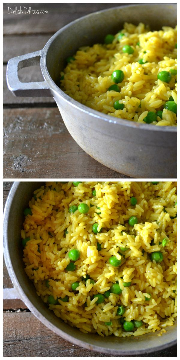 Arroz Amarillo (Spanish Yellow Rice) | Delish D'Lites