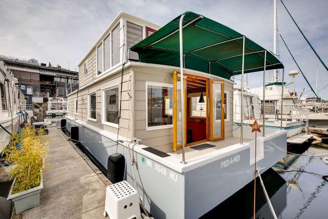 Seattle Vacation Houseboat Pied A Mer Special Agents