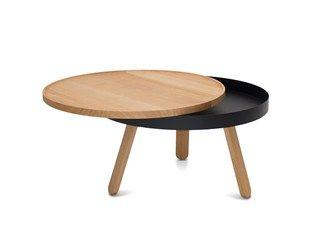 BATEA M | Tavolino da caffè con vano contenitore