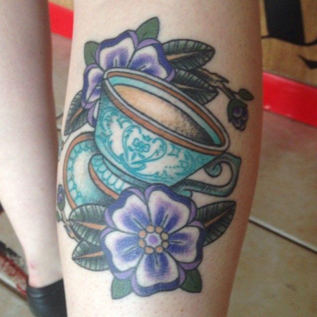 Teacup Tattoo Coffee Tattoos: 96 Best Tea Tatts Images On Pinterest