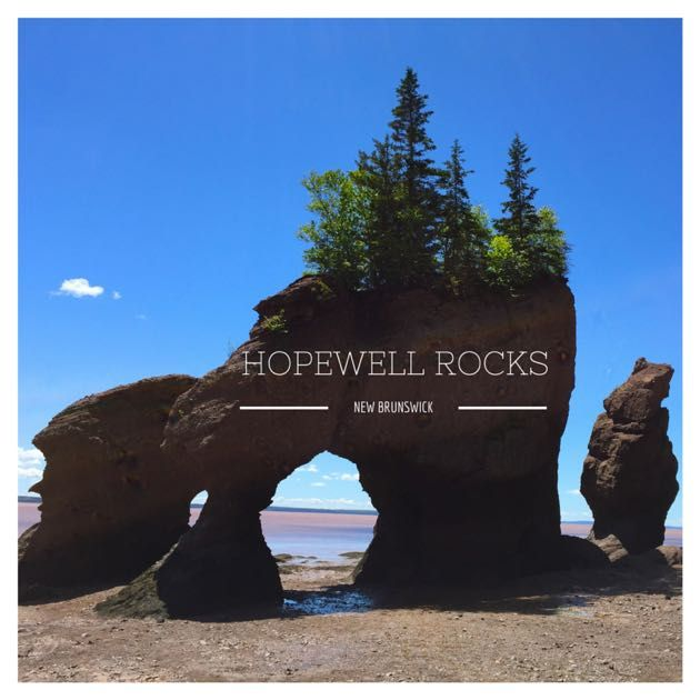 A visit to Hopewell Rocks, New Brunswick - with kids. Learn more at http://pintsizepilot.com .