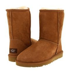 Tan uggs (chestnut) I have these and I love them. They're so comfyy