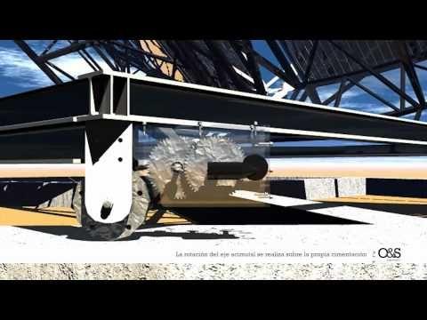 Concentrador Parabólico de Espejos Planos (solar termoeléctrica) - YouTube