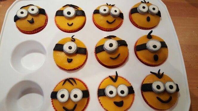 Bijpassende cupcakes.