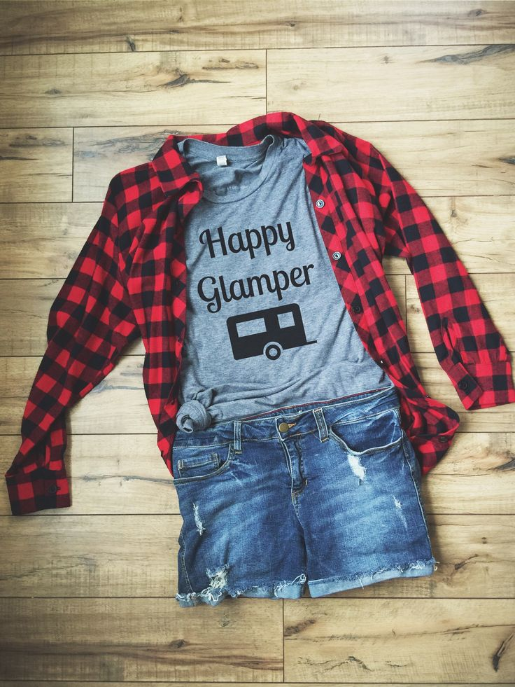 Happy Glamper Tee by Folklore Couture #glamper                                                                                                                                                      More