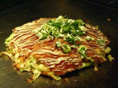 Okonomiyaki 「お好み焼き」
