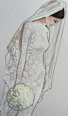 Karen Orr Bridal Illustration
