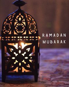 Ramadan Mubarak *Sweetheart, time for Fajr salah.. talk to you later.. have some rest, don't be sick.