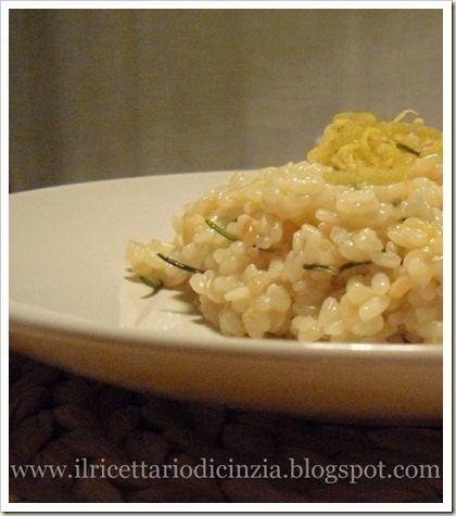 Risotto al limone e rosmarino, Ricetta Petitchef