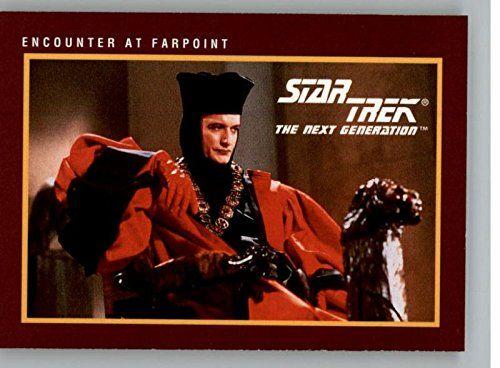 1991 Star Trek 25th Anniversary Series 1 # 12 Encounter at Farpoint @ niftywarehouse.com #NiftyWarehouse #StarTrek #Trekkie #Geek #Nerd #Products