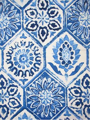 Tiled pattern | Cobalt Breeze