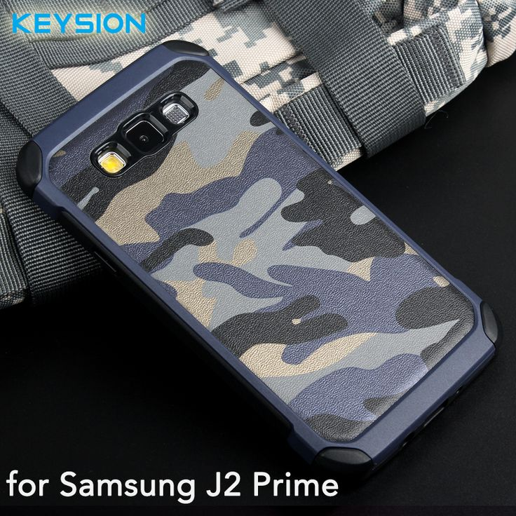 Case for Samsung Galaxy J2 Prime SM-G532 Army Camo  PC+TPU 2 in1 Anti-knock Protective Samsung Grand Prime Plus Back Cover