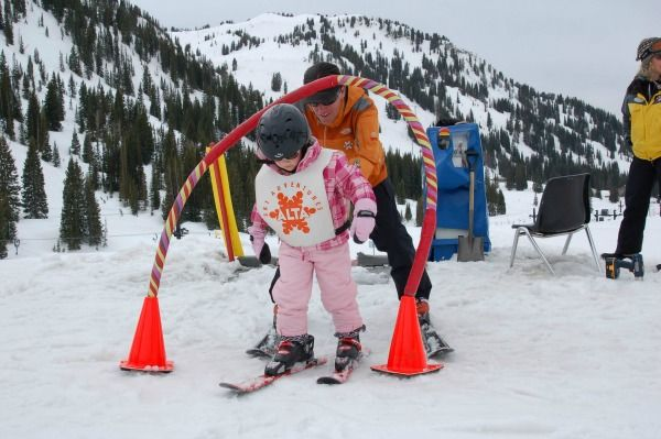 Alta Ski Area in Utah is famous for fluffy, light and dry Utah snow. Don't miss this guide to skiing this legendary resort with your family. #ski #utah