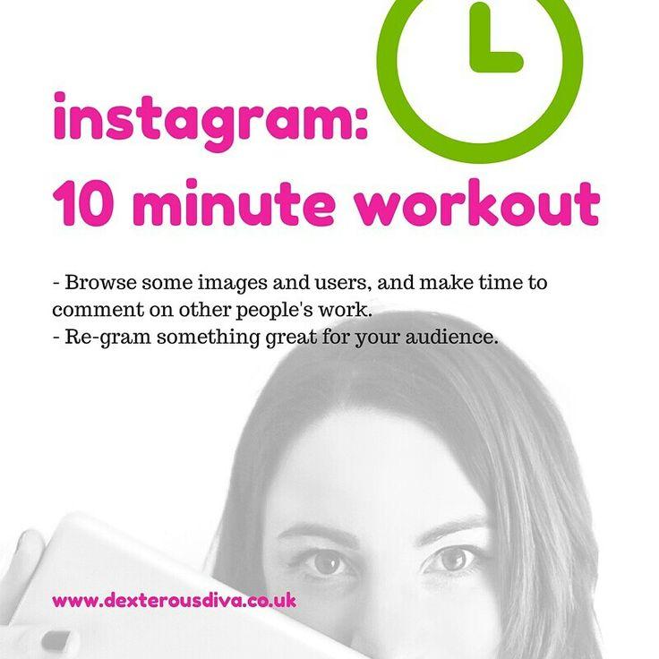 Share the insta love! #divasdaily10 #10minuteworkout #business #mentor #success #yesyoucan #mindset #abundance #womeninbiz #bizcoach #tips www.dexterousdiva.co.uk