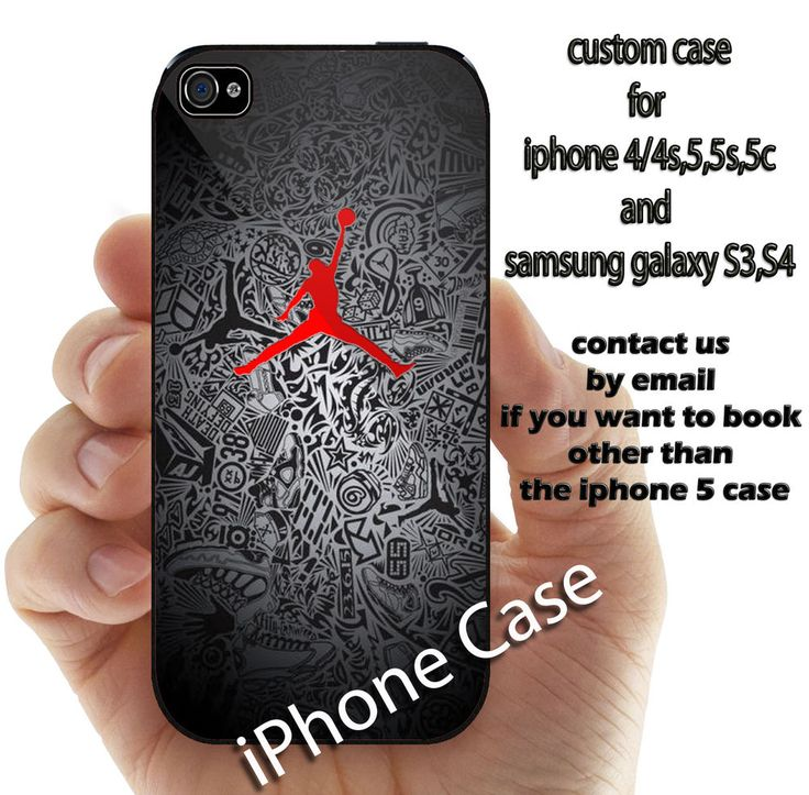 air jordan nike for iphone 4 4s 5 5s 5c 6 and samsung galaxy S3 S4 S5 case #UnbrandedGeneric