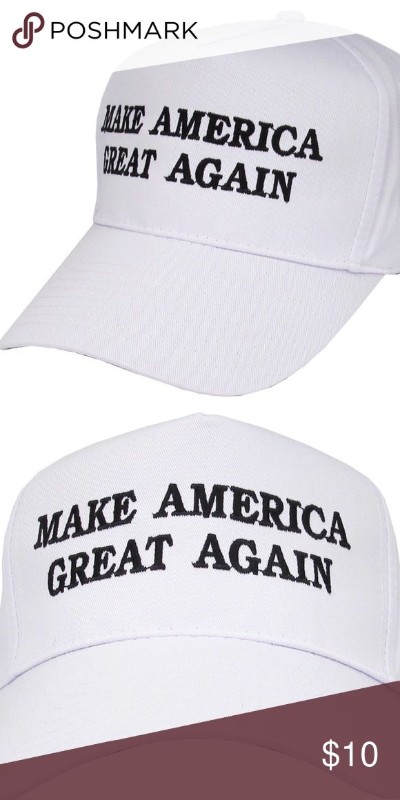 Trump Hat Brand new without tags. FYI: If you don't like Trump, so what?! This is NOT a political forum, I'm selling this hat, NOT an argument! * Accessories Hats