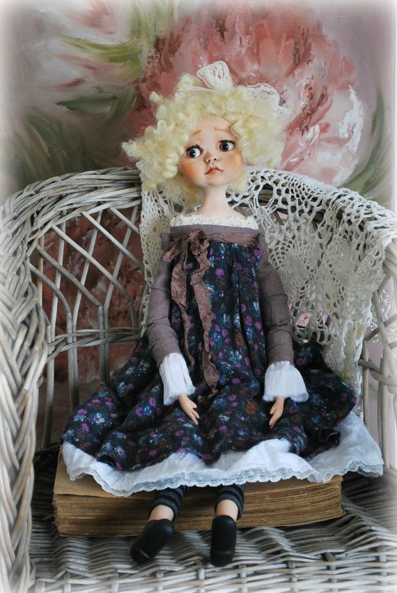 OOAK Art Doll Collectible Doll by Natali Sekreta by NatalitaArt