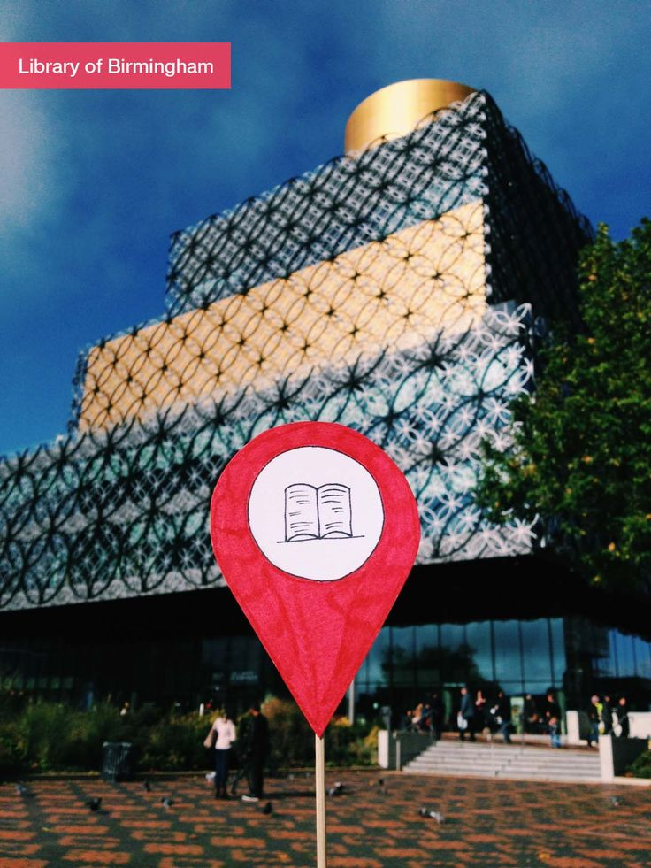 The Library of Birmingham in Birmingham, West Midlands