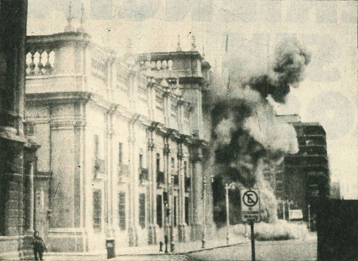 Bombardeio ao Palácio La Moneda - Chile, 1973 (link)