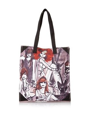 42% OFF Izak Women's Rocker Girl Canvas Tote, Multi