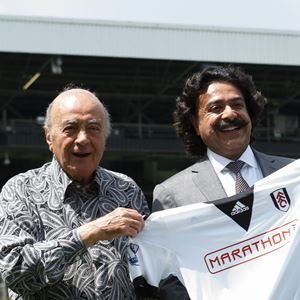Fulham Football Club is delighted to welcome our new owner Shahid Khan to Craven Cottage.