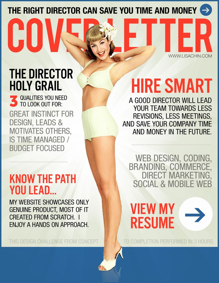 creative cover letter for resume
