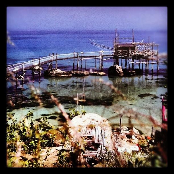 Trabocco Cungarelle a #Vasto, #Abruzzo - Prenota la tua vacanza su www.BedAndBreakfastItalia.com #Italy