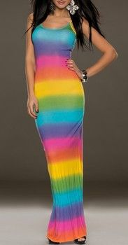 SUMMER MAXI DRESS COLOUR BUTERFLY