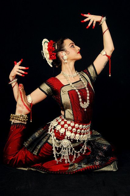 uncommonjones:  Red Odissi 10 by Colleena Shakti