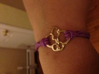 Handcrafted Girl Scout Brownie bracelet made from Brownie Pin  Such a great idea... I think I will try this for myself and surprise some others with a gift!