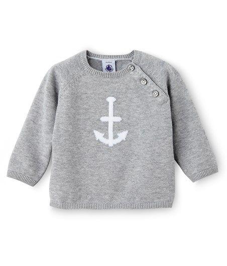 Pull bébé garçon en tricot de coton