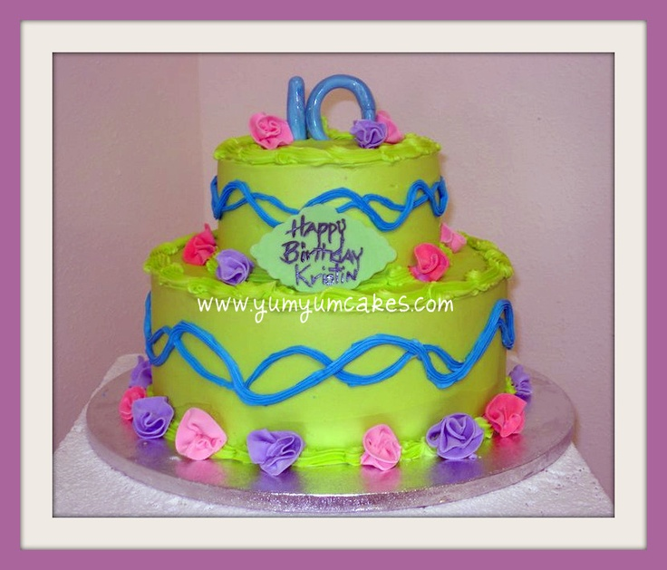 111 best Party images on Pinterest Neon cakes Birthday party
