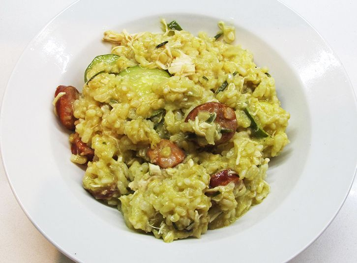 I've taken a great Jamie Oliver Chorizo, Chicken & Rosemary Risotto recipe and Thermomixed it up for you. A really yummy mid week meal.