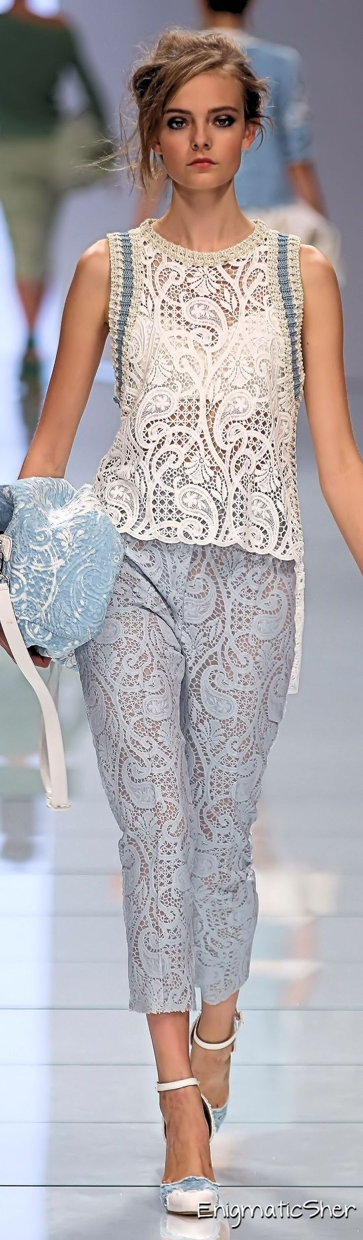 Ermanno Scervino Spring Summer 2012 Ready-To-Wear
