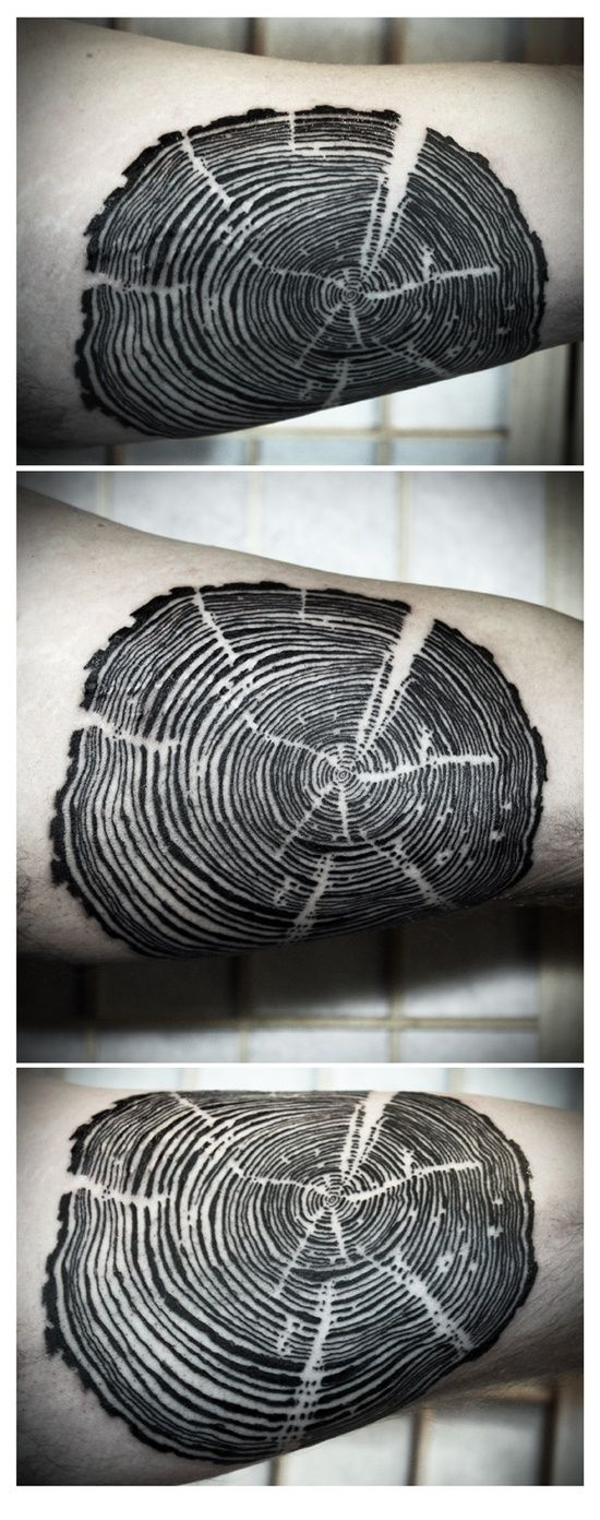 tree rings #zienrs #Tattoo #Tatoeage