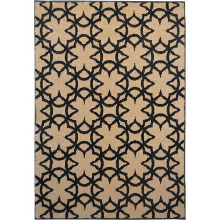 Home Dynamix Reaction Collection HD4991 Modern Area Rug, Cream, White