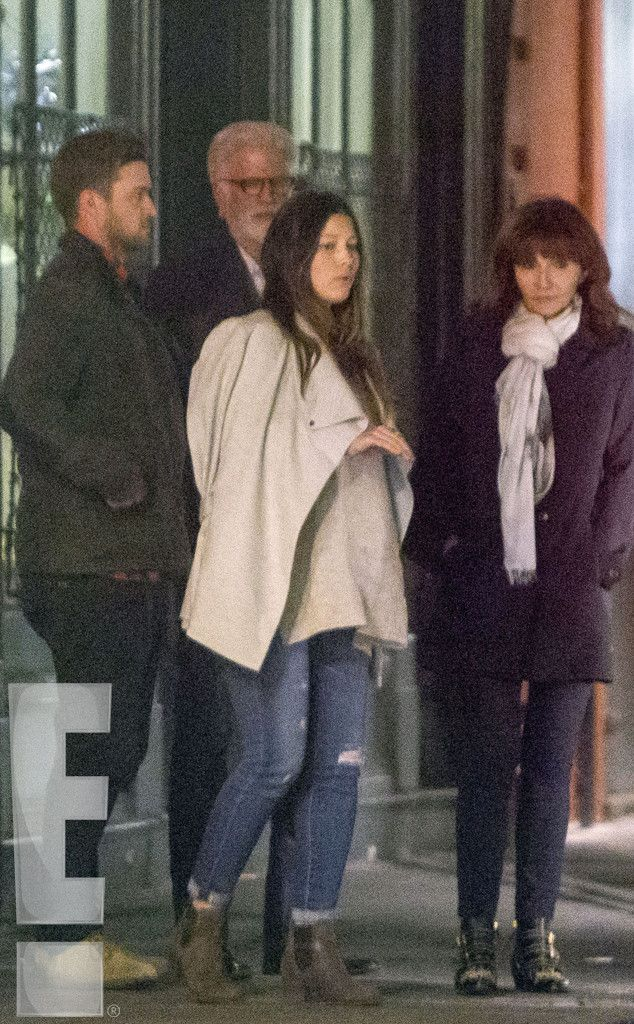 Pregnant Jessica Biel and Justin Timberlake Double Date With Mary Steenburgen and Ted Danson: See the Pics! Jessica Biel, Justin Timberlake