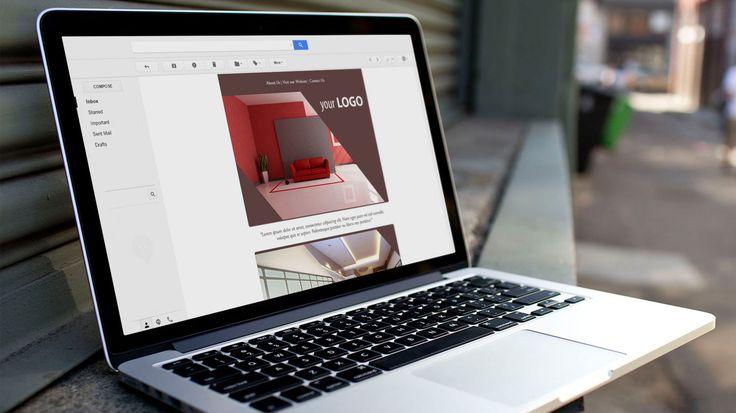 Newsletter Design for Interior Design