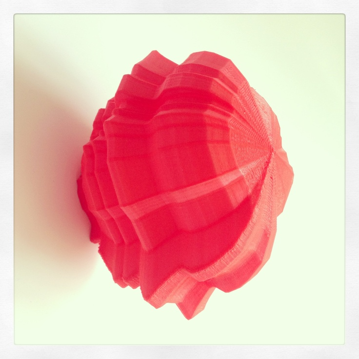 3D Printed prototypes for RONATIV Decorative Collection