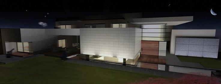 Casa HF . 750m2 . Querétaro . Mx . 2011 . Básico Arquitectura