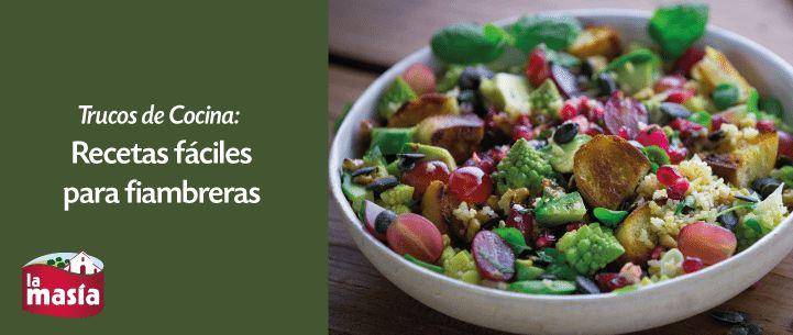 """Si sueles comer fuera de casa, entonces la #FIAMBRERA es tu mejor aliada. No pierdas ojo a estar recetas fáciles """"para llevar"""" ;)"""