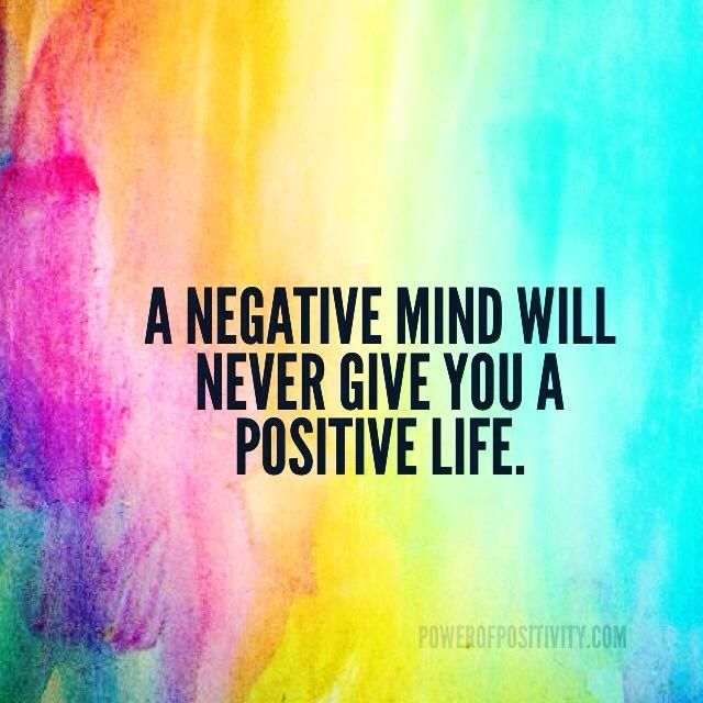 Staying Negative Positive Times