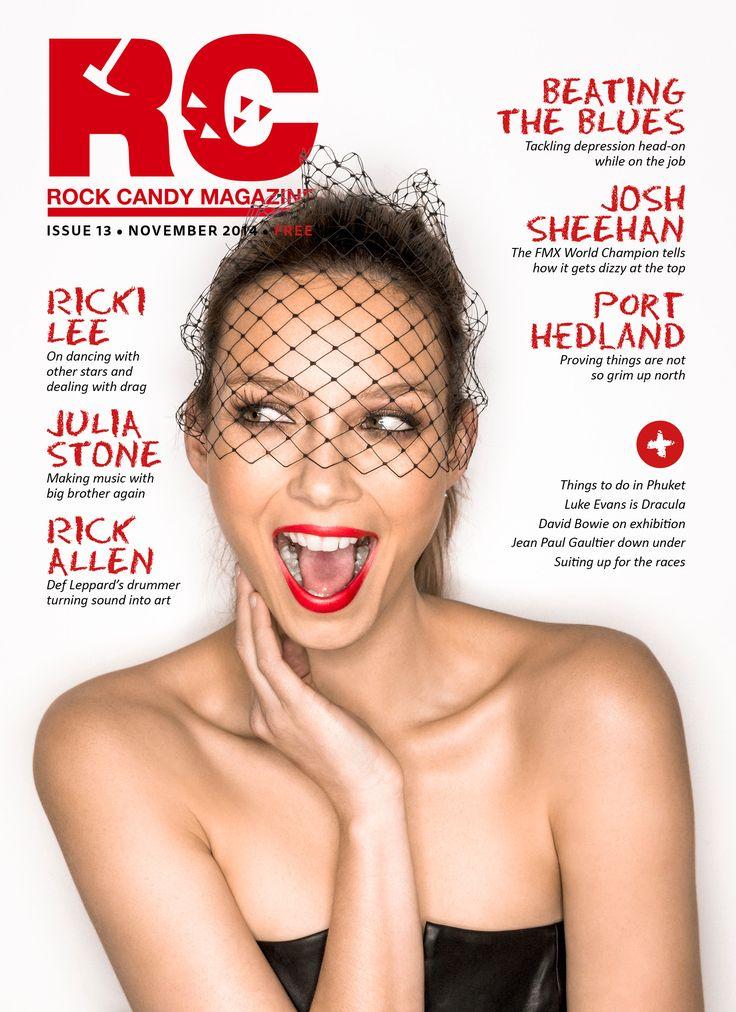 Cover of the November issue of Rock Candy Magazine http://issuu.com/rockcandymagazine/docs/rc_13_issuu