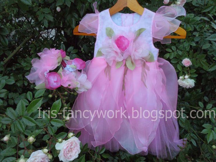 """My Fancywork Blog: Детский праздничный комплект """"Цветочная фея"""" – нар..."""