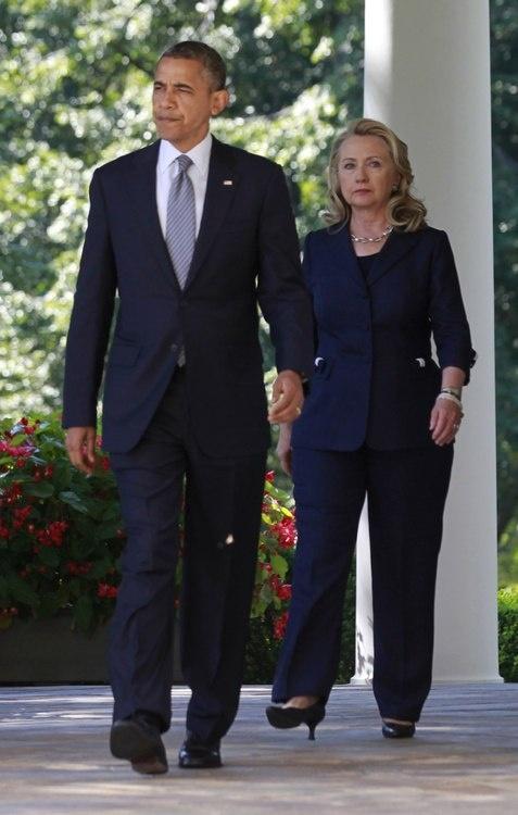 President Obama and Madame Secretary Hillary Clinton